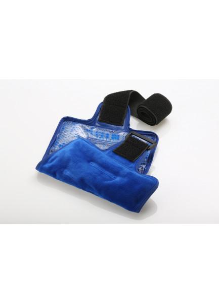 MEDIBLINK Hladilno-toplotna blazinica s kroglicami in pasom, XL 20,5 x 38,5cm M126