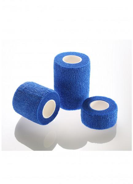 MEDIBLINK Self-adherent bandage, 5 cm x 4,5 m, blue M144